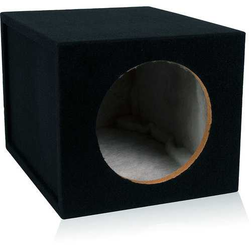"Belva Single 10"" Sealed 3/4 MDF Enclosure"