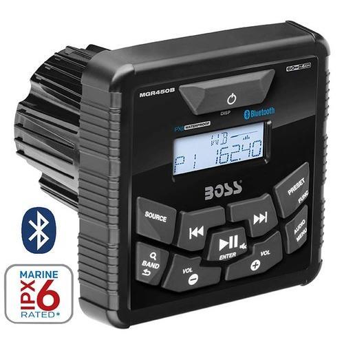 "Boss 3.5"" Indash Marine AM/FM Receiver Bluetooth"