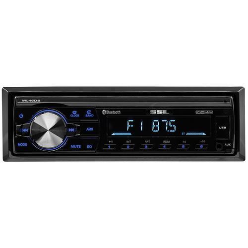 Soundstorm Single Din Digital Media Receiver BT AM/FM USB Remote