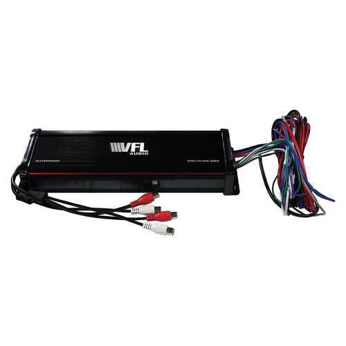 VFL Audio Marine Mini Class D 4 Channel Amplifier 1000W Max
