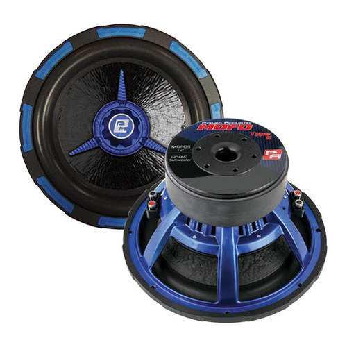 """Power Acoustik 12"""" Woofer Dual 4 Ohm 2500W Max"""