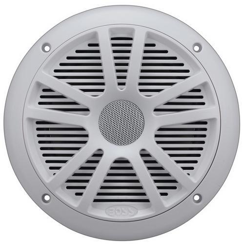 "Boss Audio Marine 6.5"" Dual Cone Speakers (White)"