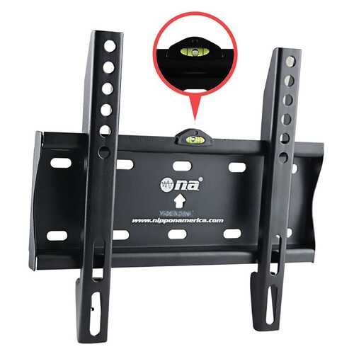 Nippon America Flat TV Wall Mount for 14-43""