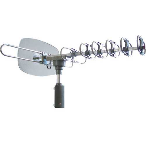 Naxa HDTV/ATSC High powered amplified motorized outdoor antenna
