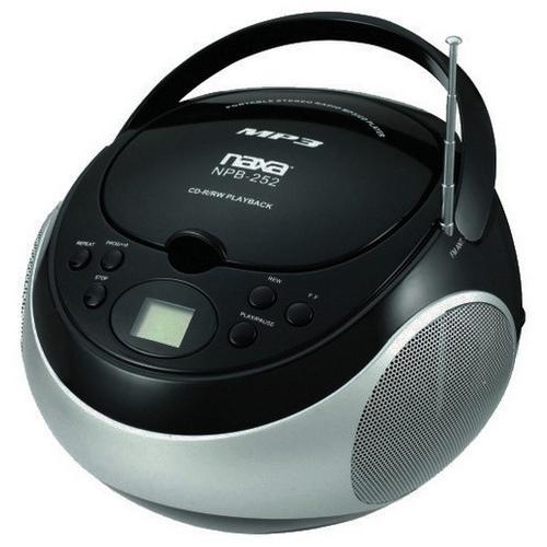 Naxa Portable mp3/CD Player with AM/FM
