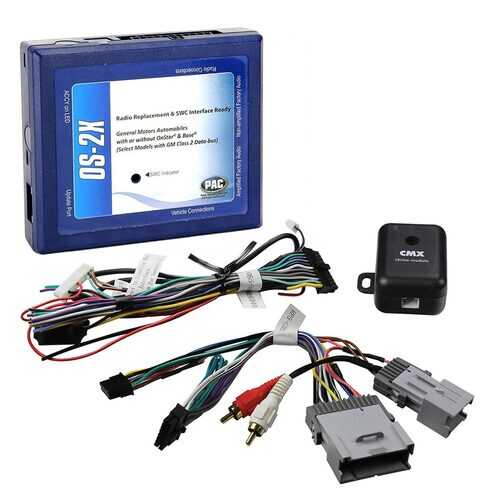 PAC OnStar Radio Replacement Interface for Select '00 - '13 GM Class II Vehicles