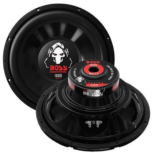 "Boss Phantom 12"" SVC Woofer Single 4 Ohm Voice Coil"