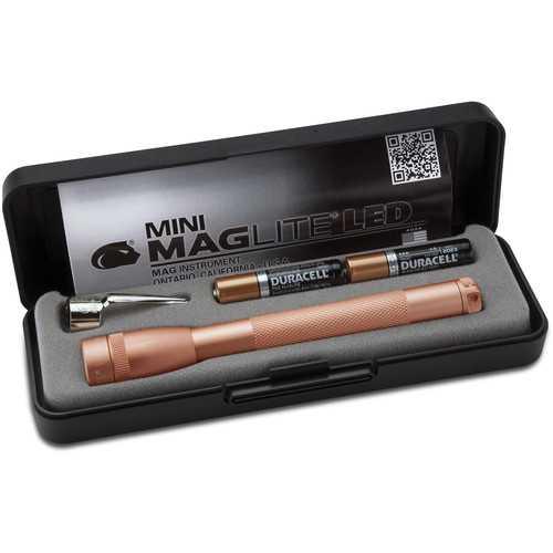 MAGLITE 2 CELL AAA MINI  LED FLASHLIGHT ROSE GOLD