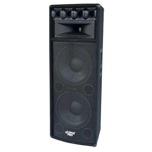 "DUAL 12"" PROFESSIONAL DJ CABINETS;PYLE PRO;1600WATTS"