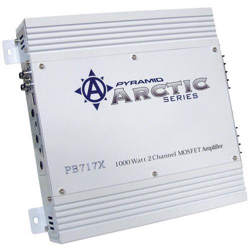 AMPLIFIER PYRAMID 1000WATT 2 CHANNEL;ARCTIC SERIES