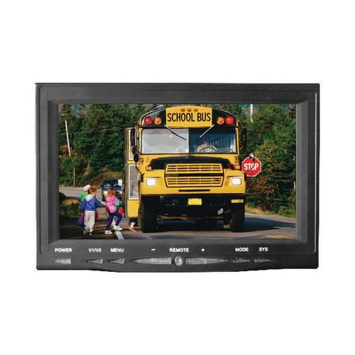 """Pyle 7"""" Monitor w/ Rearview License Plate Camera"""