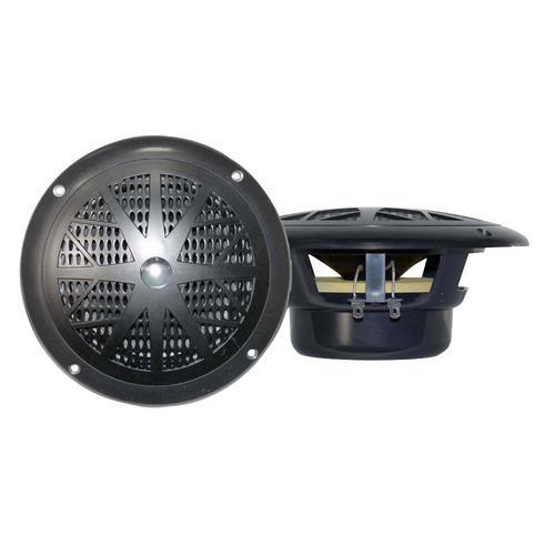 """Pyle 4"""" pair marine black speakers"""