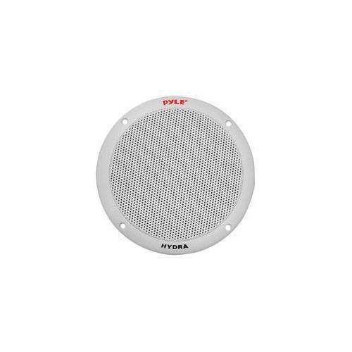 "Pyle 6.5"" 2-Way Dual Cone Marine Speakers White 400W Max"