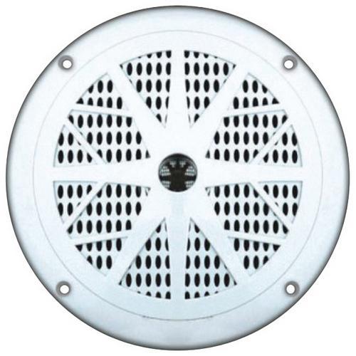 "Pyle 6.5"" White waterproof marine speaker"