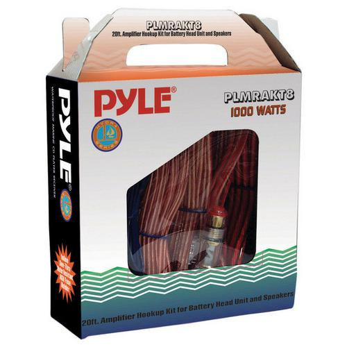 AMPLIFIER WIRING KIT 8 GAUGE PYLE MARINE