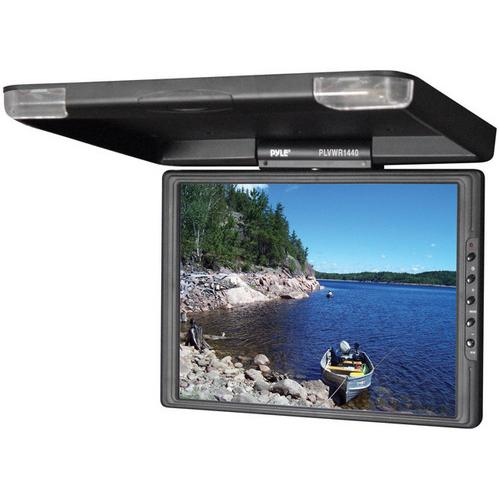 Pyle roof mount monitor 14in