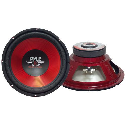 """Pyle Red Label Series 10"""" Woofer 600 Watts Max"""