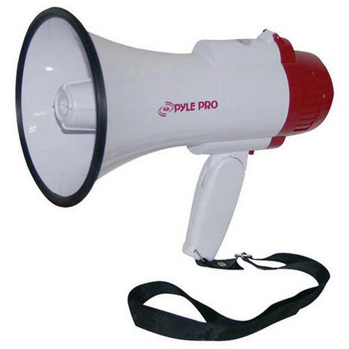 Pyle 30W Mini megaphone with Voice Recording