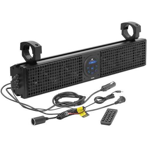 "Planet Audio 26"" Soundbar with Bluetooth and Remote Plug & Play"