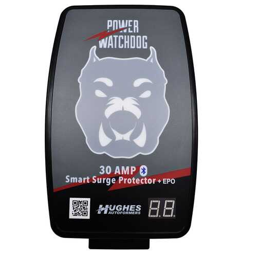 Hughes Power Watchdog Bluetooth Hardwired Surge Protector with EPO - 30 Amp