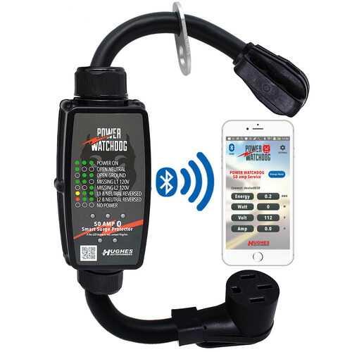 Hughes Power Watchdog Bluetooth Portable Surge Protector - 50 Amp