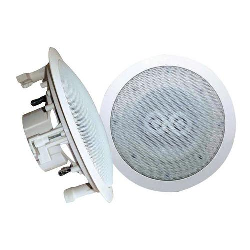 "CEILING SPEAKER 5.25"" PYLE PRO WATERPROOF; 8 OHM DUAL CHANNEL"
