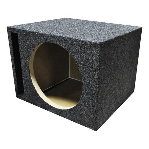 "EMPTY WOOFER BOX SINGLE 10"" MDF;VENTED BASS BOX"