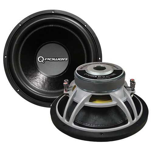 "15"" Woofer new deluxe series DVC chrome basket 90oz. magnet 2200 watts"