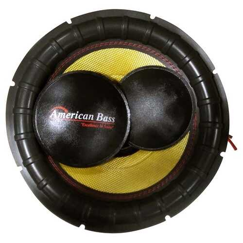 American Bass Re-cone kit for GF1511 - Dual 1 Ohm Voice Coils