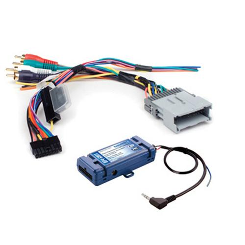 PAC Radio Replacement Interface/SWR/Navigation Outputs for GM Class II Data