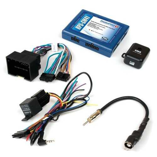 PAC OnStar Radio Replacement Interface for Select '10-'17 GM Vehicles