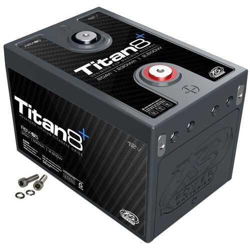 XS Power Titan 8 Lithium Battery 20AH 500 CA 2500W