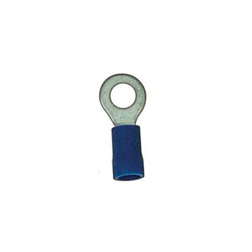 RING TERMINALS #8 14-16 GA. 100 PCS; BLUE; XSCORPION