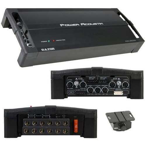 Power Acoustik Class D Amplifier 2500W Max