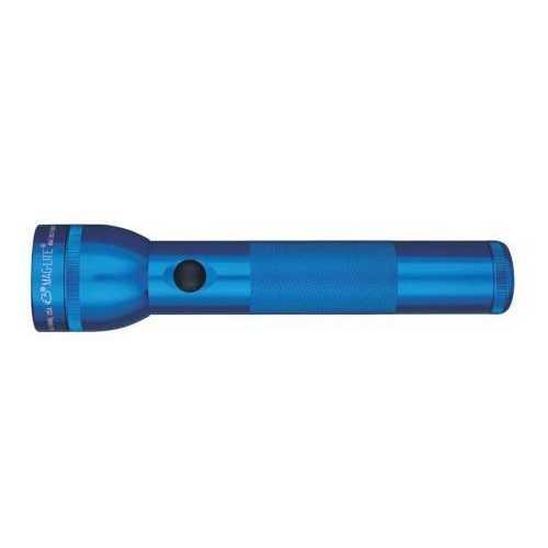 MAGLITE 2 CELL D  FLASHLIGHT BLUE-BLISTER PACK