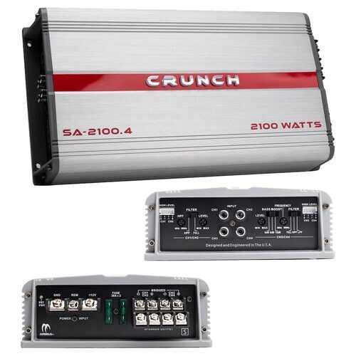 Crunch Smash Amplifier 4 Channel 2100 Watts
