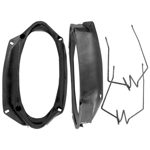 """ADAPTS 6"""" X 9"""" SPEAKERS INTO A 4"""" X 10"""" MOUNTING HOLE"""
