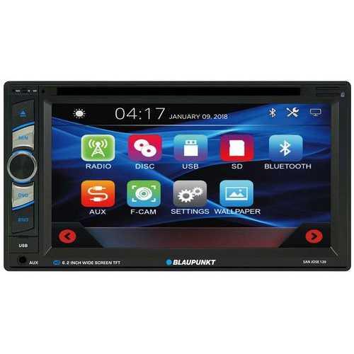 """Blaupunkt 6.2"""" D.Din Touchscreen AM/FM/DVD/BT"""