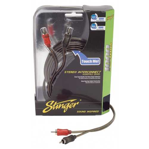 STINGER 17FT 1000 SERIES 2CH COAXIAL RCA