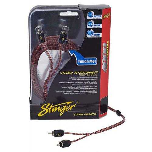 STINGER 6FT 4000 2CH RCA'S DIRECTIONAL TWISTED