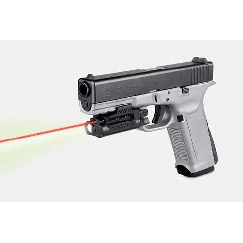 """LaserMax Rail Mounted Light/Laser Red Requires at least 1 3/4"""" of Rail Space"""