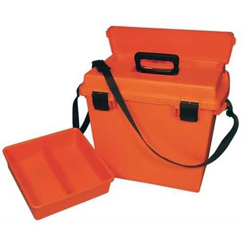 MTM Sportsmens Plus Utility Dry Box ORing Sealed 19x13x15.1In Orange