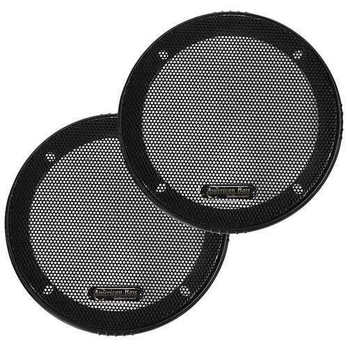 "American Bass 5"" Speaker Grills (Pair)"