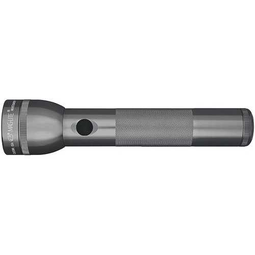 MAGLITE 2 CELL D  LED FLASHLIGHT GRAY