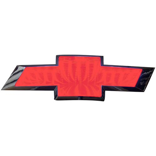 Street Vision Chevy 3D Logo Badge--Red