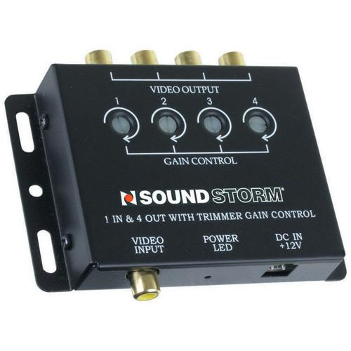 VIDEO AMPLIFIER SOUNDSTORM 1 IN 4 OUT