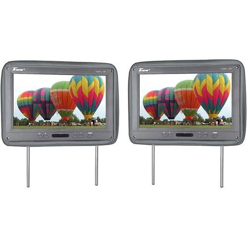 "Tview 12.1"" Headrest Monitor IR Transmitter Remotes Gray Pair"