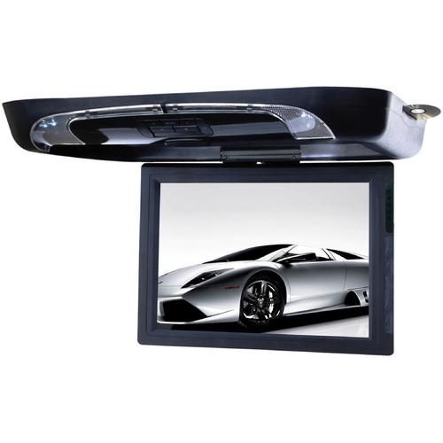 "Tview 15"" Flip Down Monitor with DVD Player USB/SD IR/FM Transmitters"