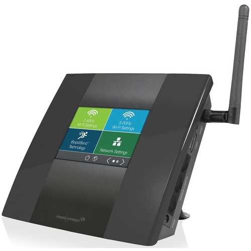 Amped Wireless High Power Touch Screen AC750 Wi-Fi Range Extender