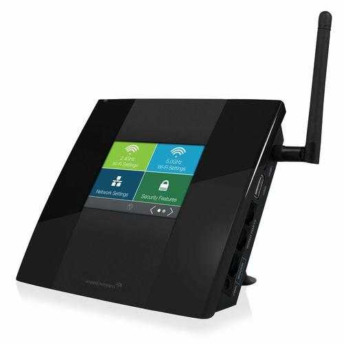 Amped High Power Touch Screen AC750 Wi Fi Router